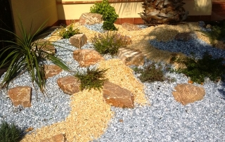 Green Space Rock Features